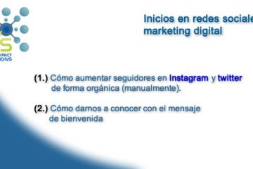 FIS - inicios en redes sociales y marketing digital