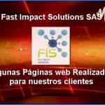 Algunos proyectos web desarrollados por nosotros