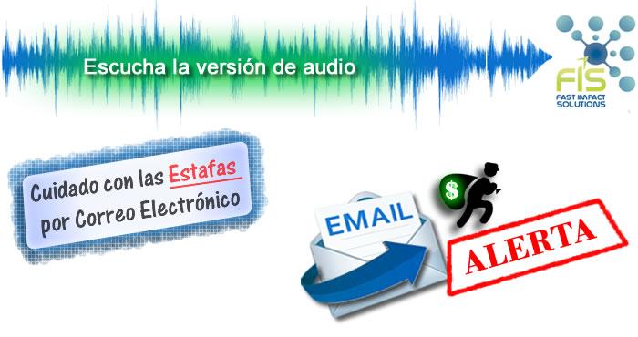 Estafas por correo electrónico - FIS Podcast 001
